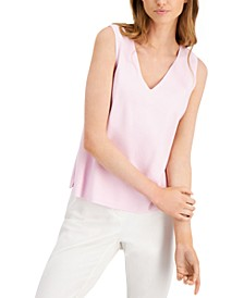 V-Neck Sleeveless Top, Created for Macy's