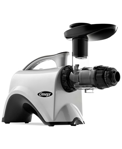 Omega NC800HDS Silver Slow Speed Masticating Nutrition Center Juicer