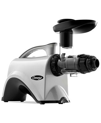 Omega NC800HDS Silver Slow Speed Masticating Nutrition Center Juicer - Electrics - Kitchen - Macy s
