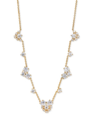 Felicity Crystal Cluster Frontal Necklace