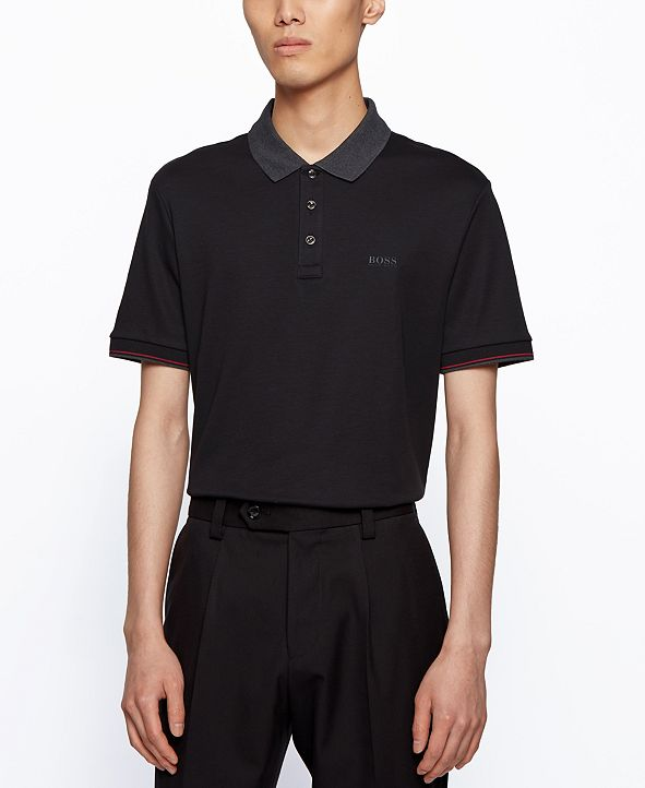 Hugo Boss BOSS Men's Parlay Regular-Fit Polo Shirt