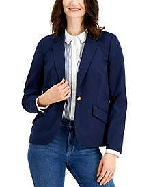 One-Button Blazer, Created for Macy's