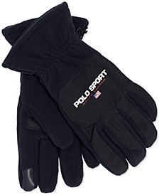 Polo Ralph Lauren Men's Polartec Fleece Gloves with Touch Technology