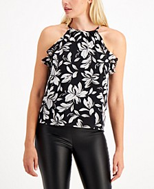 Printed Halter-Top, Created for Macy's