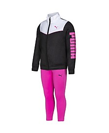 Girls 2 Piece Tricot Jacket and Legging Set (53% Off) -- Comparable Value $32