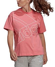 Women's Cotton Big-Logo T-Shirt