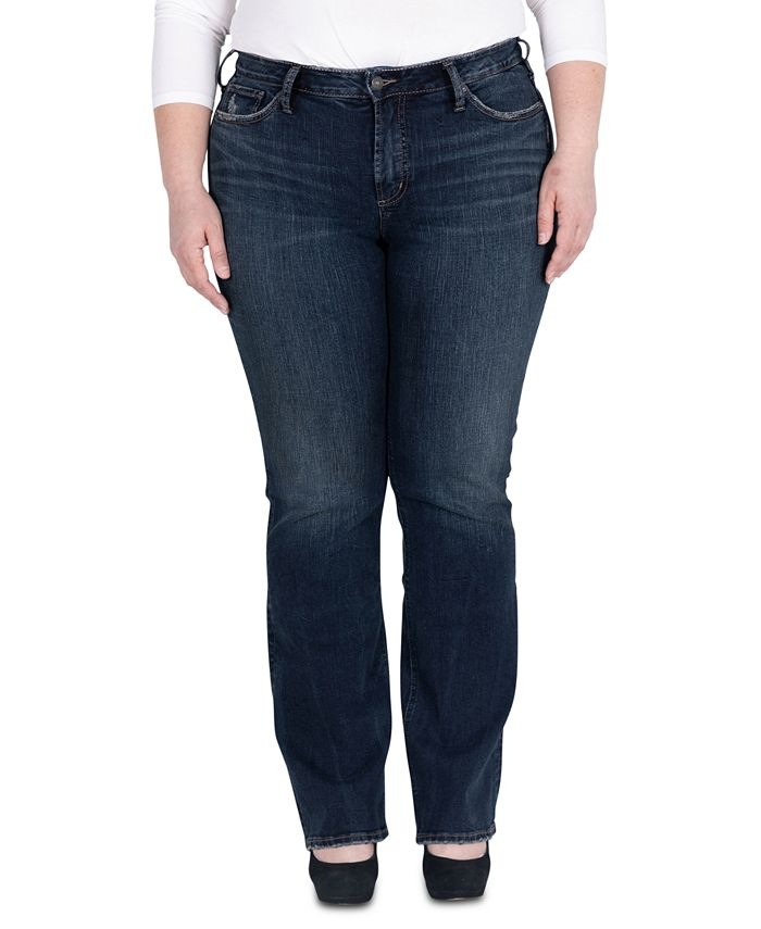 Silver Jeans Co. - Plus Size Avery Slim Bootcut Jeans