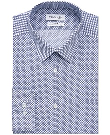Calvin Klein Men's Steel Slim-Fit Stretch Performance Dress Shirt