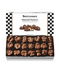 Almond Clusters in Milk Chocolate, 8 oz