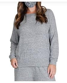 Women's Plus Size Cozy Raglan Sweatshirt