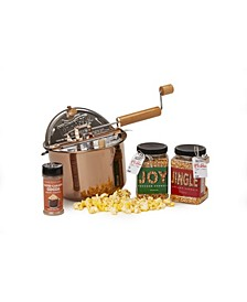 Holiday Copper Plated Whirley Pop Jingle and Joy Giftset