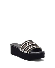 Women's Trivia Flat Sandal