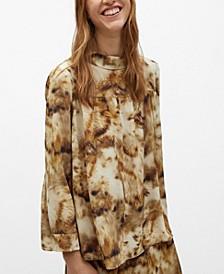 Women's Animal Print Blouse