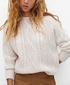 Women's Back Bow Sweater