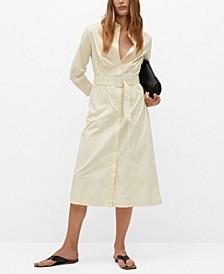 Women's Cotton Shirt Dress