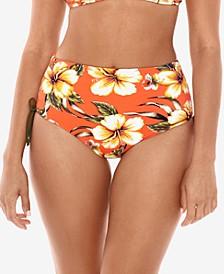 SkinnyDippers Kahului Transformer High-Waist Bikini Bottoms