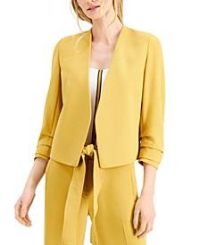 3/4-Sleeve Blazer, Created for Macy's