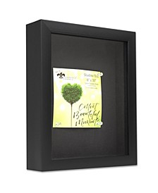 """Shadow Box Frame with Linen Display Board, 8"""" x 10"""""""