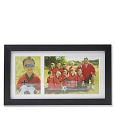 Double Opening School-Class or Sport-Team Picture Frame