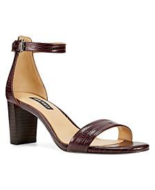 Women's Pruce Ankle Strap Block Heel Sandals