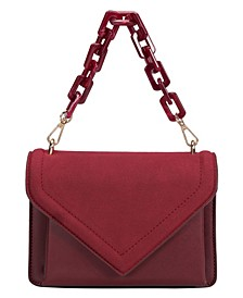 Dawn Small Vegan Leather Crossbody