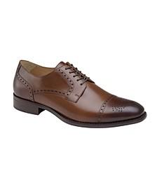 Men's Lewis Cap Toe Lace-Up Oxford Shoes