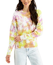 Cotton Tie-Dyed Sweater, Created for Macy's
