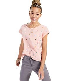 Four-Leaf Clover Printed T-Shirt, Created for Macy's