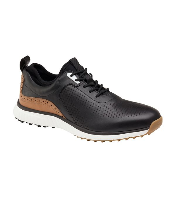 Johnston & Murphy Men's Luxe Hybrid Golf Lace-Up Sneakers