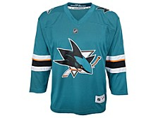 San Jose Sharks Kids Blank Replica Jersey