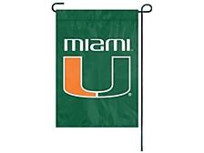 Miami Hurricanes Garden Flag