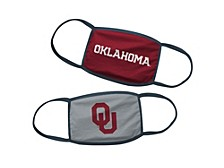 Oklahoma Sooners 2 Pack Kids Face Masks
