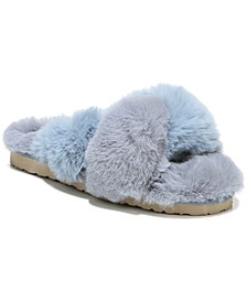 Women's Jaley Fluffy Flip-Flop Slippers