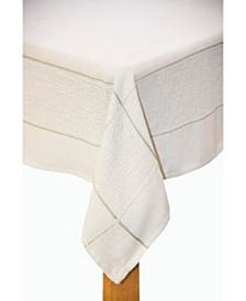 Carlisle 60x120  Tablecloth Silver