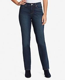 Bandolino Women's Mandie Straight Short Length Jeans