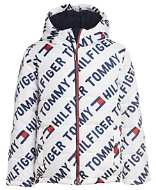 Big Boys Printed Puffer Jacket
