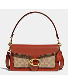 COACH Tabby Shoulder Bag 26 In Signature Canvas With Beadchain