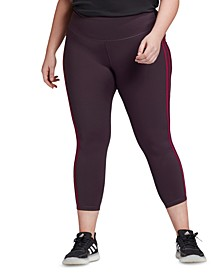Plus Size Believe This 7/8 Tights