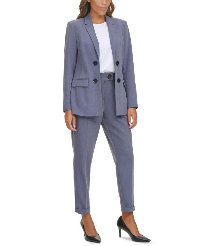 Calvin Klein Open-Front Blazer & Reviews - Jackets & Blazers - Women - Macy's