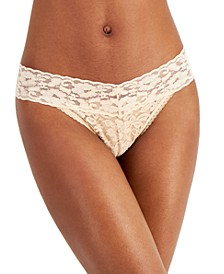 INC Women's Lace Thong Underwear, Created for Macy's