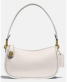 Leather Swinger Shoulder Bag