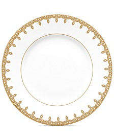 Lismore Lace Gold Accent Salad Plate