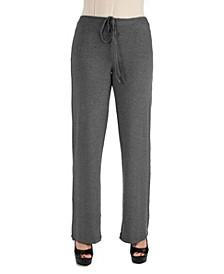 Women's Plus Size Drawstring Lounge Pants