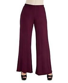 Women's Plus Size Palazzo Pants