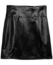 Holding Onto A Dream Coated Mini Skirt