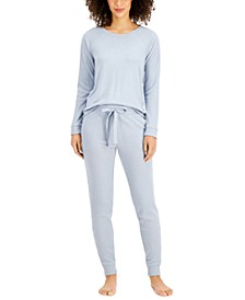 Thermal Sleep Top & Jogger Pants Collection, Created for Macy's