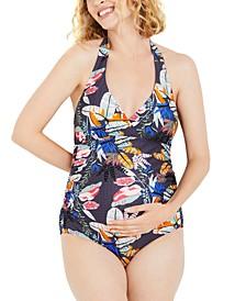 One-Piece Halter Swimsuit