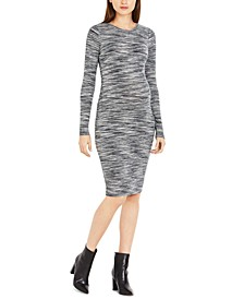 Spacedye Knit Maternity Dress