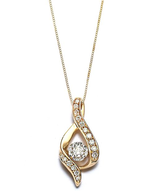 beloved roses gold treasures italy tone star stars pendant cut and chain product rose yellow diamond heart