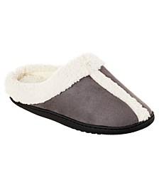 Isotoner Women's Microsuede Heidi Hoodback Comfort Slippers